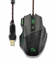 Mouse Profissional Usb Warrior Gamer Pro 7 Botoes Multilaser - MO207
