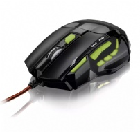 Mouse Optico Xgamer Fire Button Usb 7 Botoes 2400 Multilaser - MO208