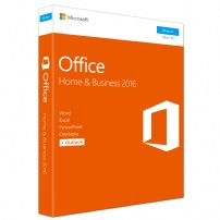 Office 2016 Home & Business Fpp ( Nao Possui Disco) - T5D-02932