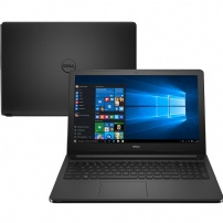 Notebook Dell I15-5566-a30p I5-7200u 4gb 1tb W10 Sl Preto - I15-5566-A30P