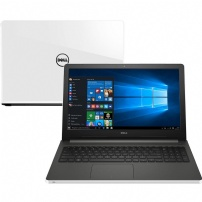 Notebook Dell  I15-5566-a30b I5-7200u 4gb 1tb W10 Home Single Branco - I15-5566-A30B