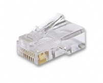 Conector Rj45 Macho Cat.5e 8v Solido - Wurth - 050288