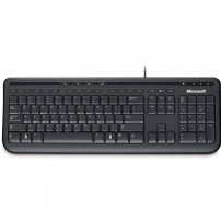 Teclado Usb Wired Keyboard 600 Preto Microsoft - ANB-00005