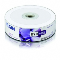 Dvd+r Dual Layer 8.5gb/240min/8x Pino 25 Elgin - 82095