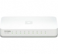 Switch 08p 10/100/1000 Mbps Dlink - DGS-1008A