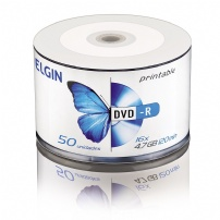 Dvd-r Printable 4.7gb/120min/16x Pino 50 Elgin - 82202