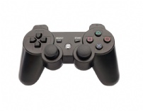Controle Dual Shock Bluetooth 621121  P/ Ps3 Preto Dazz - 621121