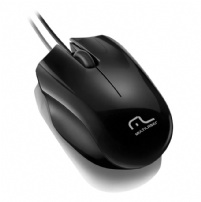 Mouse Optico Usb Sport Preto Multilaser