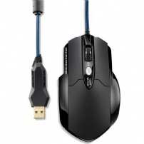 Mouse Optico Usb Gamer Pro Laser Usb 8 Botoes 3200 Dpi - MO191