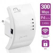 Access Point Repetidor  Wireless 2.4 Ghz 300mbps Branco - RE051