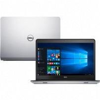 Notebook Dell Inspiron I14-5448-c30 Intel Core I7 8gb (2gb De Memoria Dedicada) 1tb 8gb Ssd Touchscreen 14'' Windows 10 - Prata - I14-5448-C30