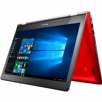 Notebook Lenovo Yoga 500 14'' Intel Core I5-5200u 4gb 500gb Windows 10 Touch Vermelho - 80NE0005BR