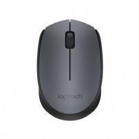 Mouse Logitech Wireless M170 Cinza - M170 CINZA