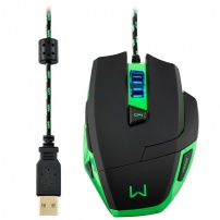 Mouse Warrior Gamer 3200dpi - Multilaser - MO245