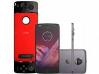 Smartphone Motorola Moto Z2 Play Platinum 64gb + Game Pad - 31885