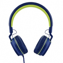 Fone De Ouvido Earphone Pulse Fun Series Azul-verde - PH162
