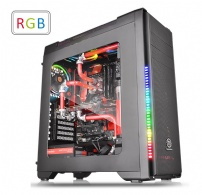 Gabinete Versa C21 Rgb Black Window Usb3.0/2.0 - Thermaltake - CA1G8-00M1WN-00