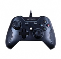 Controle Xbox One/pc Warrior Multilaser Preto - JS078