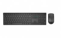 Teclado E Mouse Wireless Dell  Km636  Preto - KM636 580-ADIO