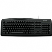 Teclado Usb Wired Keyboard 200 For Busines Preto Microsoft - 6JH-00003
