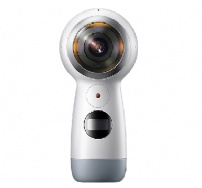 Camera Galaxy Gear 360 2017 Branca - SM-R210NZWAZTO