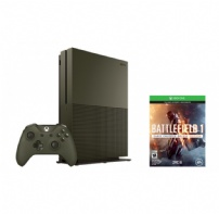 Console Xbox One S 1tb 4k Hdr + Jogo Battlefield 1 - 234-00055