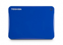 Hard Disk Usb 2tb Canvio Connect Ii Azul - Toshiba - HDTC820XL3C1