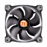 Cooler Fan P/ Gabinete 12cm Riing Led Branco - Thermaltake - CL-F038PL12WT-A