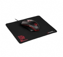 Mouse E Mousepad Gamer Tt Sports Talon X - Thermaltake - MO-CPCWDOOBK-01