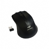 Mouse C3tech Wireless M-w20 Preto - M-W20BK