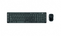 Teclado e Mouse  Wireless C3tech  K-w50  Preto - K-W50BK