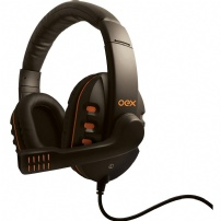 Fone De Ouvido Gamer Action - Oex Game - HS200