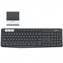 Teclado Logitech Sem Fio K375s Multi-dispositivo, Bluetooth, Abnt2, Unifying , Grafite - 920-008167 - 920-008167