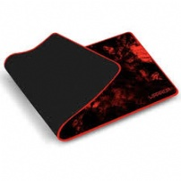 Mousepad Gamer Multilaser P/ Teclado E Mouse Warrior Verm - AC301