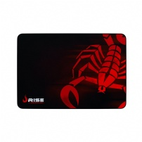Mousepad Gamer Rise Scorpion Red Costurado - Grande