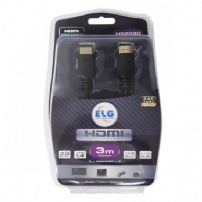 Cabo Hdmi 2.0 High Speed 3 Metros - Elg - HS2030