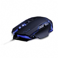 Mouse Gamer Warrior 3200 Dpi Usb - Preto - MO261