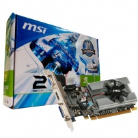 Placa De Video 1gb Gddr3 64 Bits Gt 210 Low Profile - Msi - N210-MDIG/D3