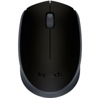 Mouse Logitech M170 Wireless  Preto  - 910-004940 - 910-004940