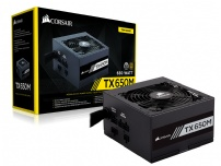 Fonte Atx 650w 80 Plus Gold Semi-modular Tx650 - Corsair - CP-9020132-WW