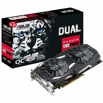 Placa De Video 4gb Gddr5 256bits Rx580 Dual Oc Edition -asus - DUAL-RX580-O4G
