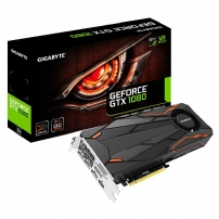 Placa De Video 8gb Gddr5 256 Bits Gtx1080 Turbo Oc -gigabyte - GV-N1080TTOC-8G