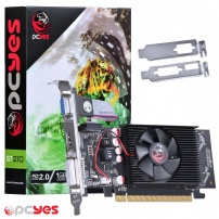 Placa de Video 1gb Gddr2 64 Bits Gt 210 Perfil Baixo - Pcyes - PPV210GT6401D2L