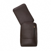 Mochila Para Notebook 15'' De Couro Nomade Cafe - NW089.IC/NW089A.IC