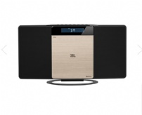 Microsystem Jbl Ms202 Bluetooth 10w /relogio Digital/radio Fm/cd/usb/aux - JBLMS202SLVBR