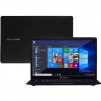 Notebook Multilaser Legacy Intel Celeron 4gb 32ssd 14'' Windows 10 Pro 64 Bits Preto - PC209