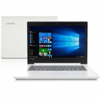 Notebook Lenovo Ideapad 320-14'' Hd I3-6006u 4gb/500gb/windows 10 Home/ Branco - 80YF0008BR