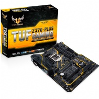 Placa Mae Asus 1151 Tuf Z370-plus Gaming 8ger 4000mhz/m.2/cfx - TUF Z370-PLUS GAMING