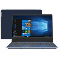 Notebook Lenovo Ultrafino Ideapad 330s 14'' I7-8550u 8gb 1tb Windows 10 H 81jm0003br Azul - 81JM0003BR