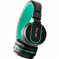 Fone De Ouvido Bluetooth Fun Series Preto E Verde - Pulse - PH215